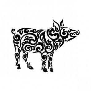 Tribal Pig 21120