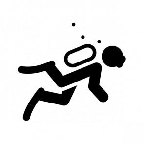 Sign Symbol Diver Diving 21126