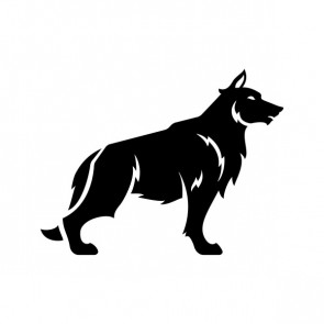 Wolf Figure Right 21145