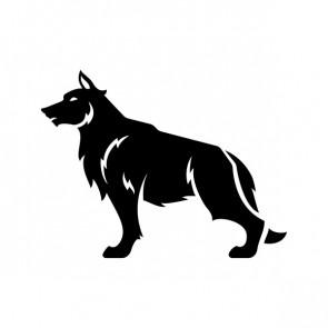 Wolf Figure Left 21146