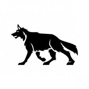 Wolf Figure 21155