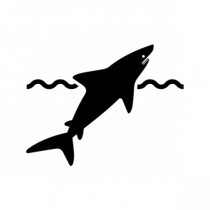 Shark Danger Symbol 21214