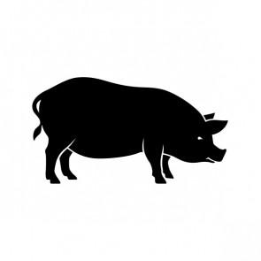 Pig Pork Butcher Shop Decoration 21235