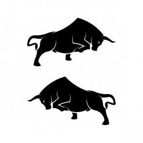 Pair Of Bulls 21375