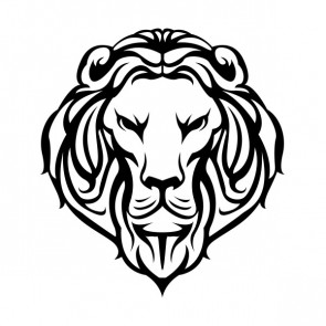 Lion Head Lineart 21470