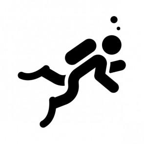 Scuba Diving Icon Diver 21507