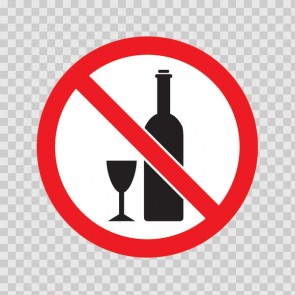 No Drinking Sign 21606