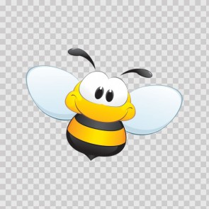 Cartoon Bee Smiling 21673