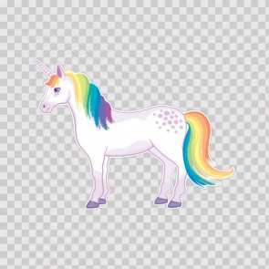 Cute Unicorn Left 21827