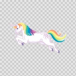 Cute Unicorn Jump  Left 21829