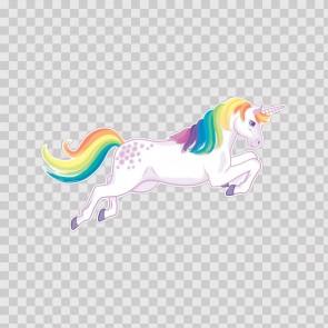 Cute Unicorn Jump Right 21830
