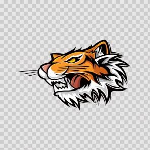 Tiger Head 21862
