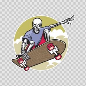 Skater Skeleton 21871