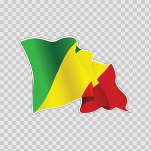 Republic Of Congo Flag 22048