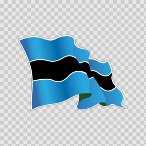 The National Flag Of Botswana 22051
