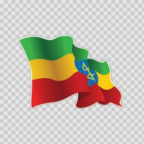 Ethiopia Flag 22059
