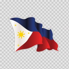 Philippines Flag 22060