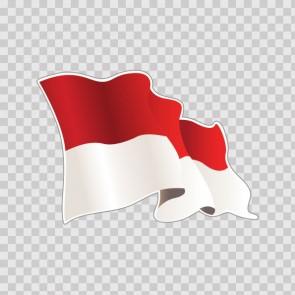 Monaco Flag 22061