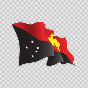Papua New Guinea Flag 22062