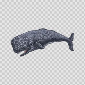 Sperm Whale Tattoo Style 22202