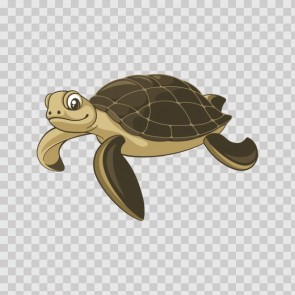 Sea Turtle Left 22245