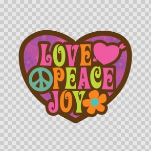 Love Peace Joy 22297