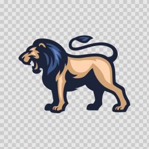 Wild Lion Mascot 22428