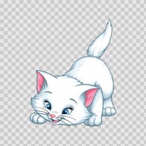 Cute Little Pet Domestic Cat 22575