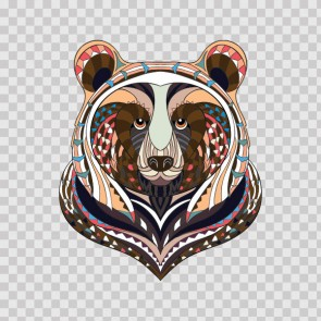 Traditional Colorful Bear 22593