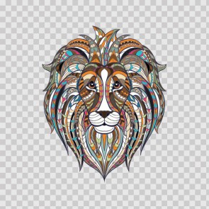 Indian Ethnic Style Ornamented Lion Head 22597