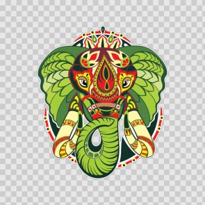 Indian Traditional Elephant 22625