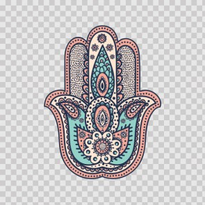 Fatima Hamsa Hand Good Luck Palm 22699