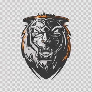 Tiger Head 22766