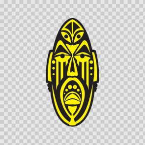 Ancient African Mask 22787