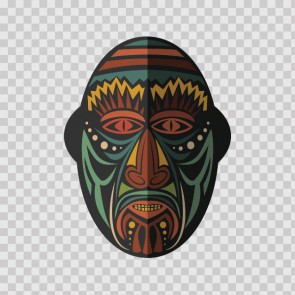 African Native Traditional Ancient Mask 22818