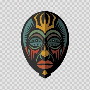 African Native Traditional Ancient Mask 22822