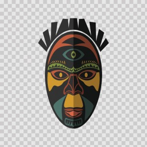 African Native Traditional Ancient Mask 22824
