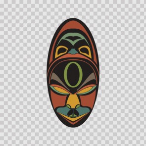 African Native Traditional Ancient Mask 22829