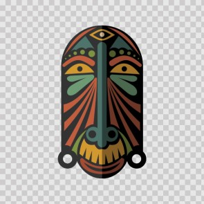 African Native Traditional Ancient Mask 22834