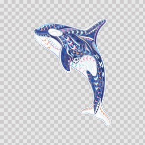 Floral Whale 22840