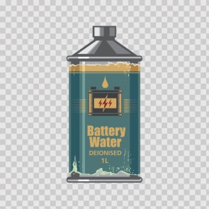 Car Battery Water Deionised 22892