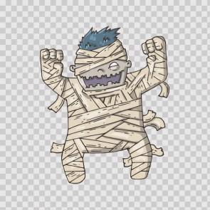 Happy Cartoon Mummy 22895