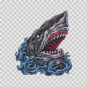 Sea Monster Tattoo Style 23003