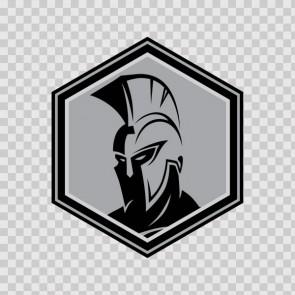 Spartan Warrior Head 23049