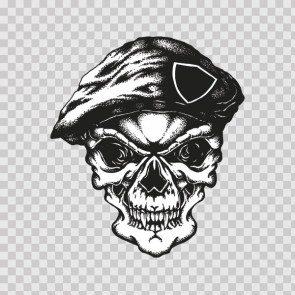 Demon Skull Scetch Army 23113