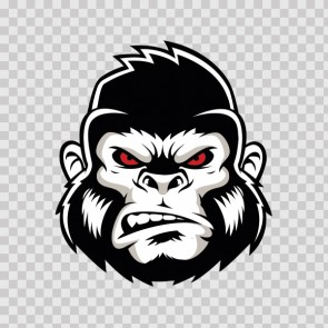 Gorilla Ape Head 23136