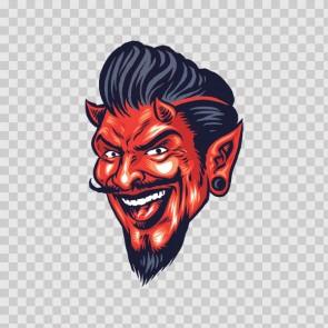 Devil Satan Diavolo Smiling 23159