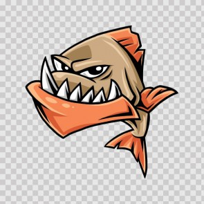 Piranha Cartoon 23188