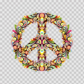 Tribal Peace Symbol 23191