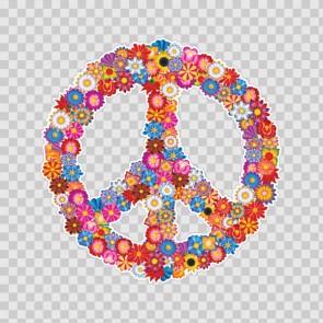 Floral Peace Symbol 23192
